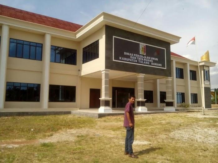 Dinas PU Tata Ruang Kabupaten Tulangbawang Memulai 10 Konstruksi Tahap 1.