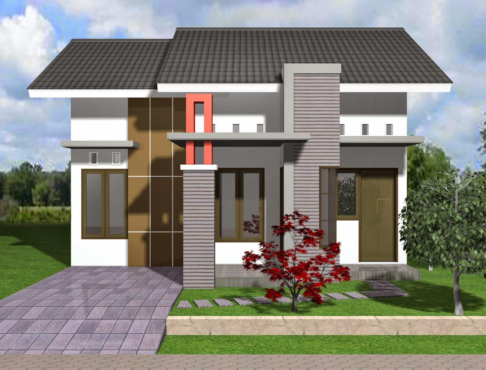 9 Desain Rumah Minimalis Type 36/72 Paling Update ...