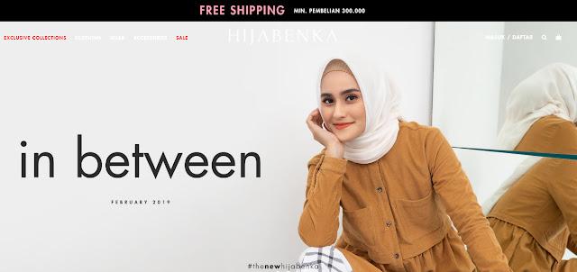 #Hijabenka - #Promo SALE Mulai 9% & Free Shipping Min Belanja 300 Ribu