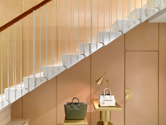 Green Pear Diaries, J&M Davidson, boutique, Mayfair, Londres, Universal Design Studio
