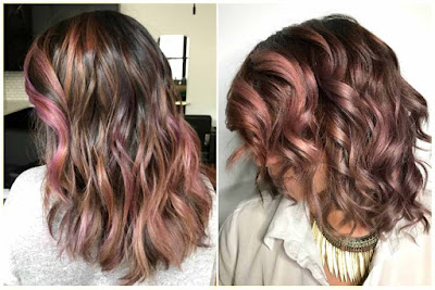 Brown Mauve Hair Color - Four Best Hair Color Ideas for 2017