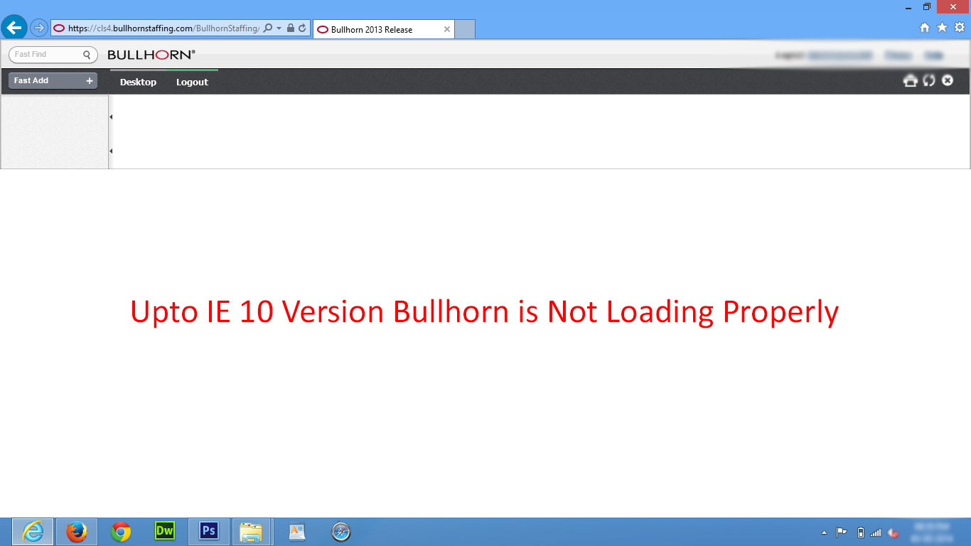 UI/UX Designers and Web Developers: Bullhorn IE Config Tool
