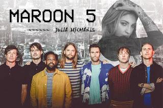 Promoção Maroon 5 e Julia Michaels
