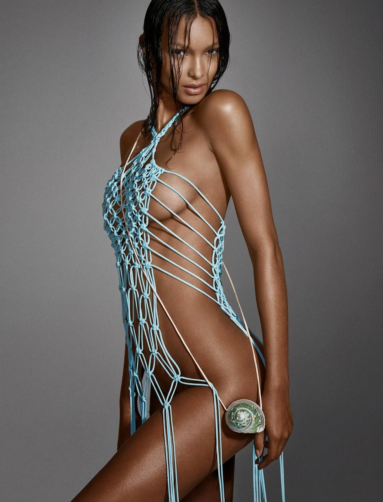 Models Of Color: Vogue Brazil January 2015: Lais Ribeiro