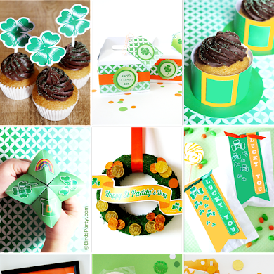 St Patrick's Day | Bumper Pack of Free Party Printables