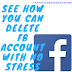 How to delete Facebook account - Permanently Deactivate FB