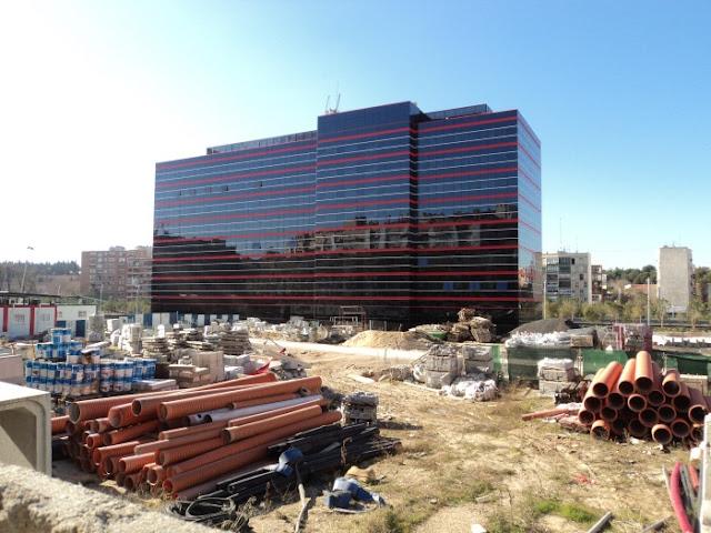 Solar del Hotel NH rivera del Manzanares