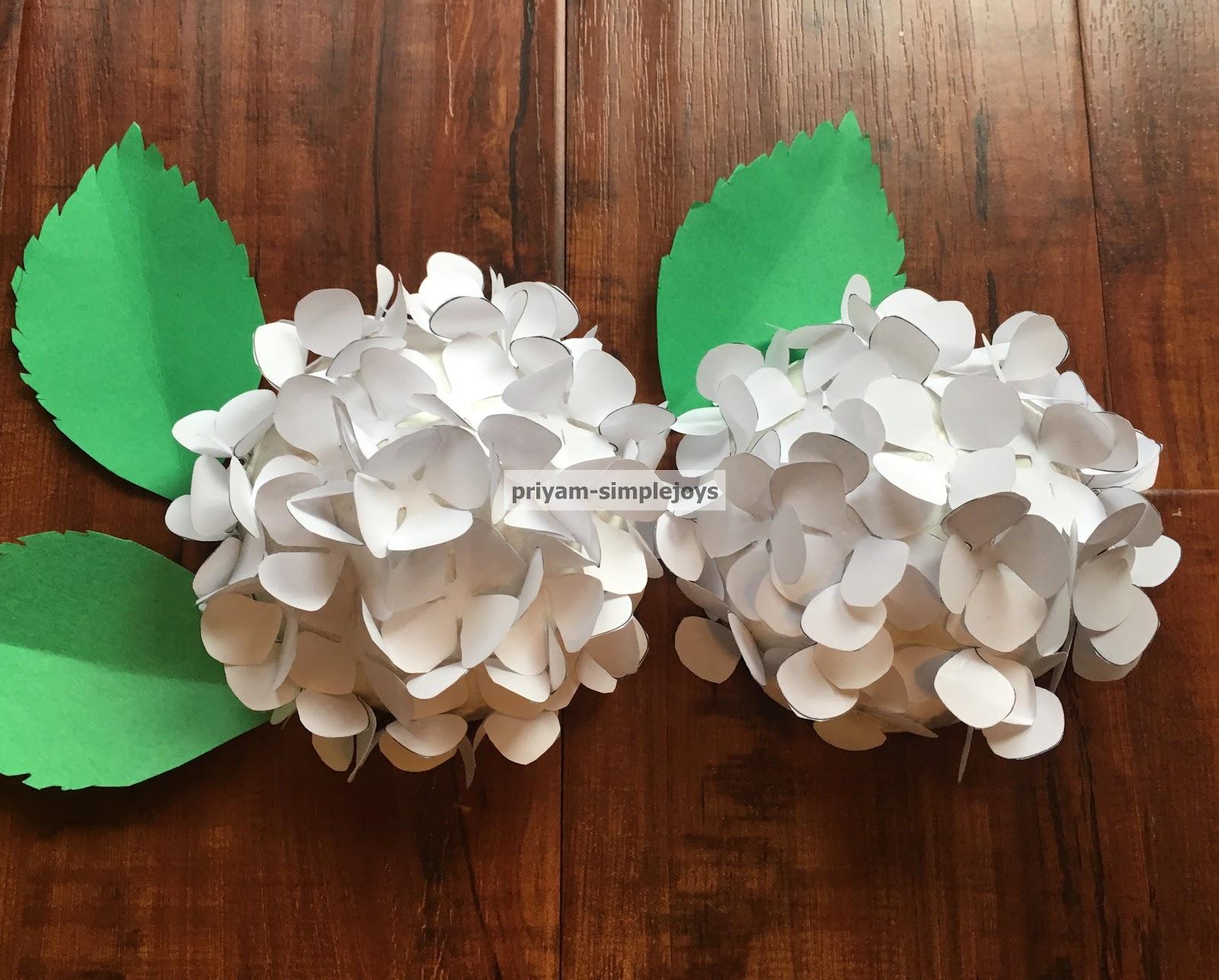 Simplejoys Paper Hydrangea
