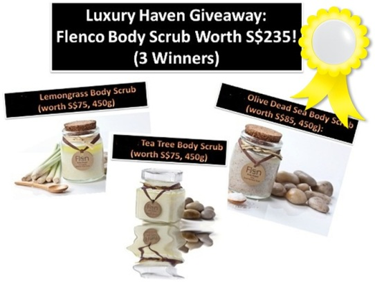 flenco mspa body scrub giveaway beauty