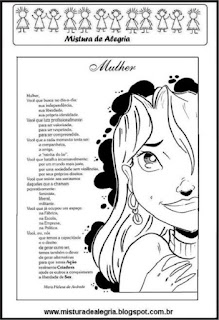 Dia da mulher poema