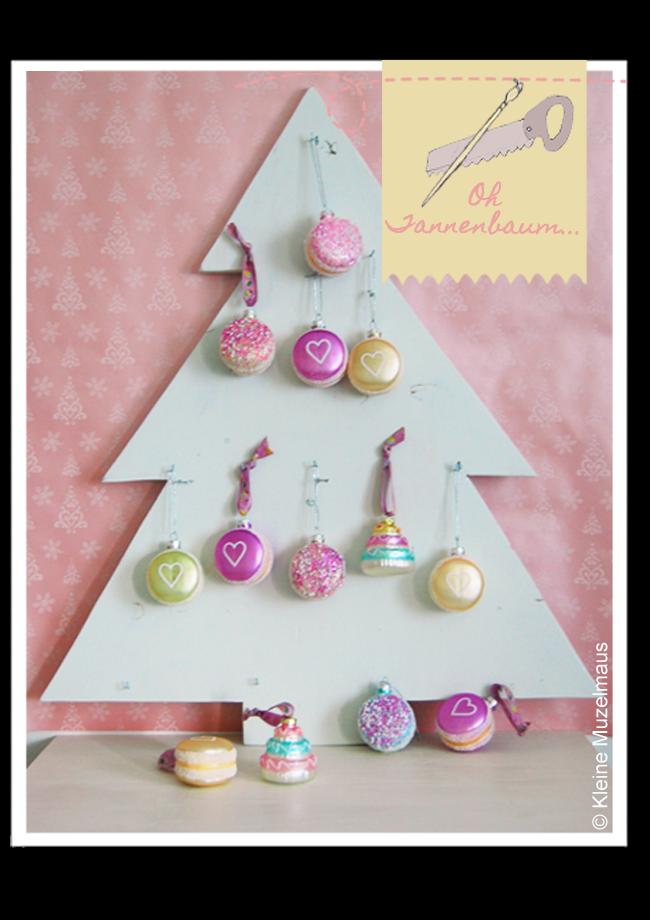 kleine muzelmaus weihnachtsbaum aus holz. Black Bedroom Furniture Sets. Home Design Ideas