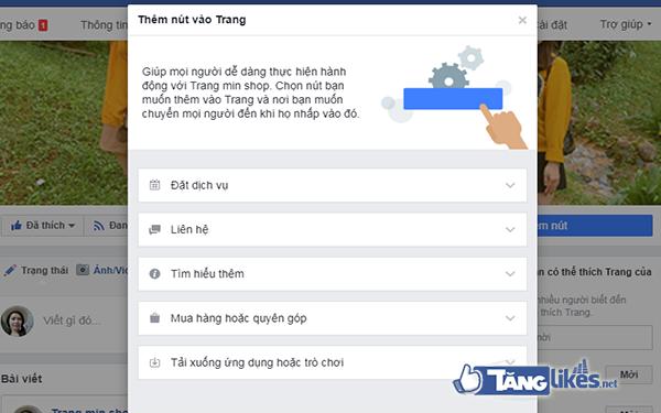 tao 2 nut hanh dong tren fanpage 3
