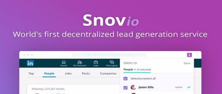 Snovio Platform Layanan Sumber Data Yang Terdesentralisasi