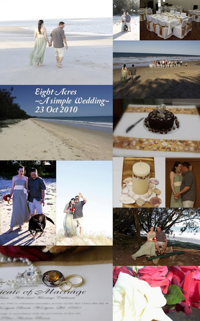 eight acres: our simple wedding