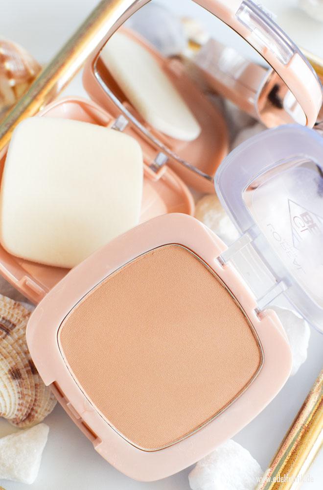 Wie gut ist das  L'Oreal Glam Beige Healthy Glow Puder