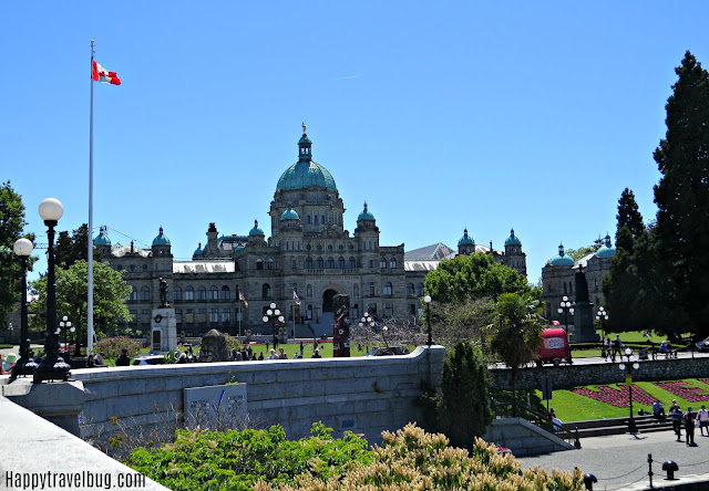 Parliament building in Victoria, BC