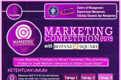 Lomba Marketing Nasional Mahasiswa 4th Management Euphoria 2019