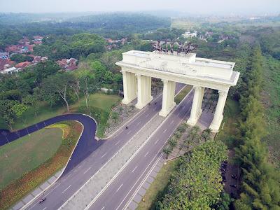 Gerbang Utama (Giant Gate) Citra Indah City