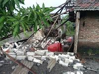 Puluhan Rumah di Sugiharjo Pati Diterjang Angin Kencang