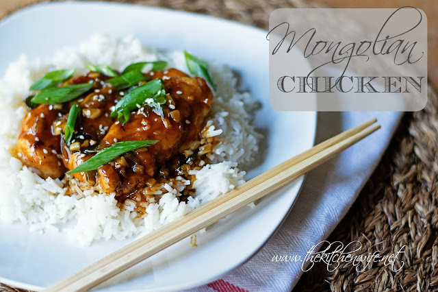 Mongolian Chicken