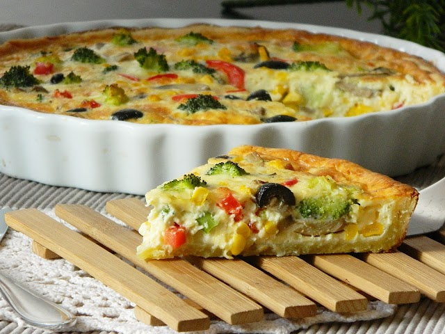 Quiche Tutorial - Vegetarian recipe