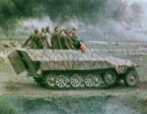 Late War German Artillery And Vehicles Pictures 1