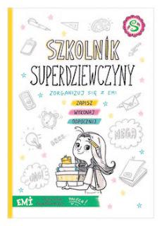 """Recenzja książki: """" Szkolnik Superdziewczyny""""- Agnieszka Mielech"""