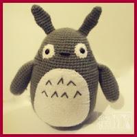 Otro Totoro amigurumi