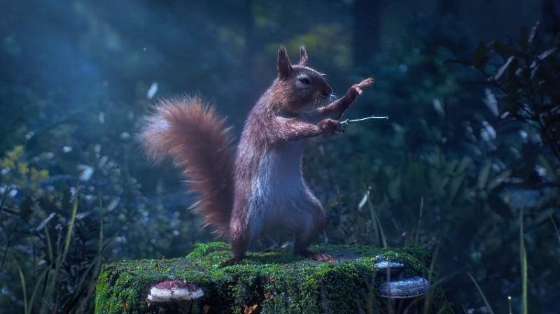 esquilo maestro