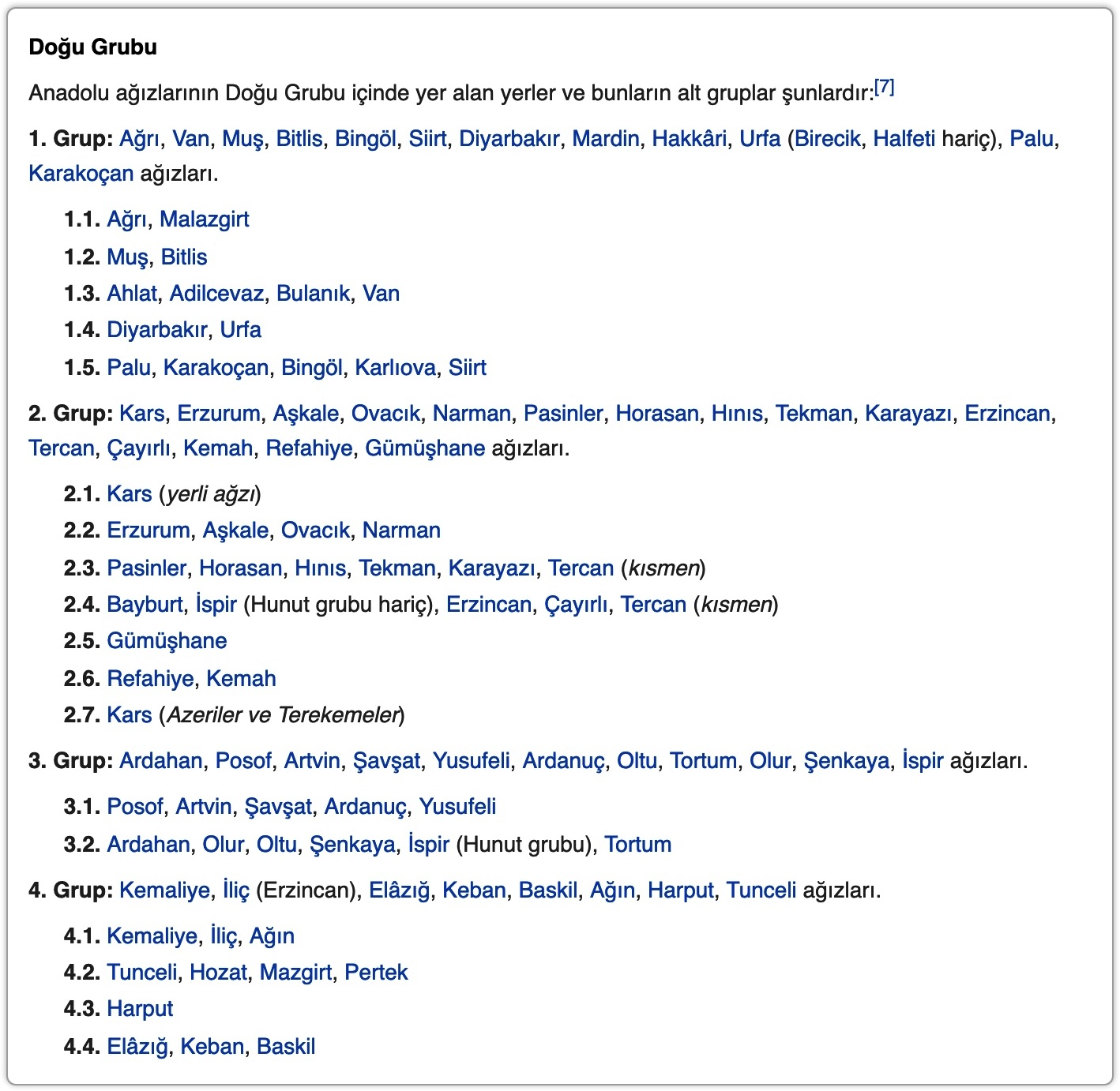 türkçe ağızlar haritası ile ilgili görsel sonucu