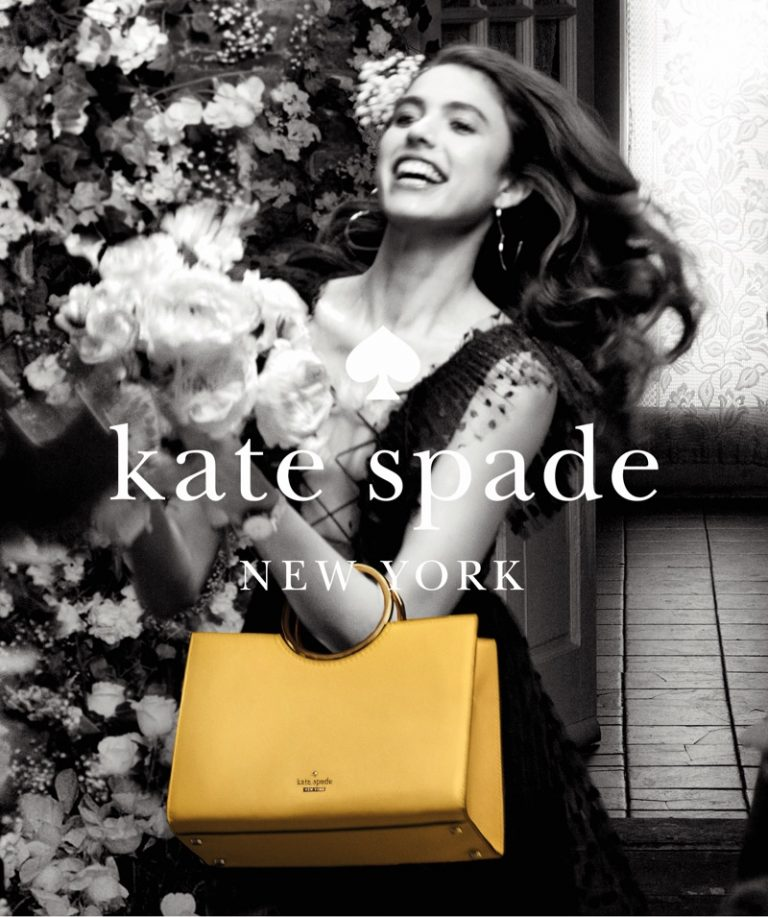 Margaret Qualley stars in Kate Spade's summer 2018 campaign