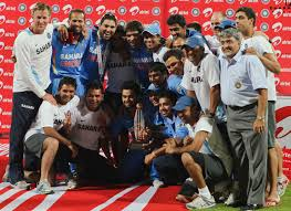 Rohit Sharma Winning World Cup Trophy