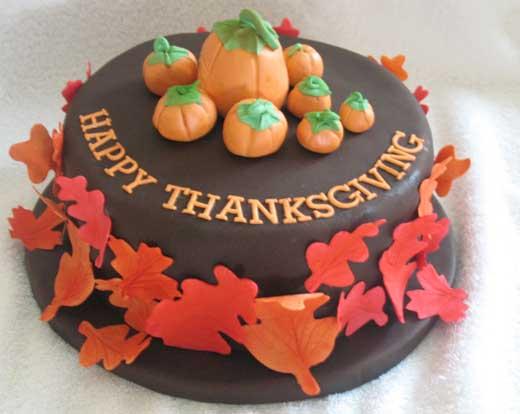 Cute Ideas For Making Turekey Cakes