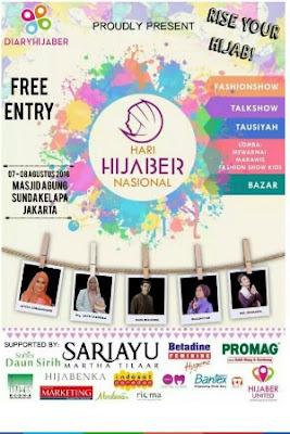 lebaran ceria diaryhijaber hari hijaber nasional hari hijaber Internasional