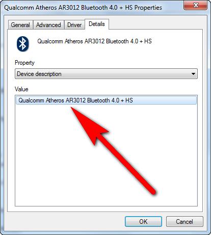 Hardware ID of device windows