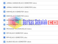 Perangkat Pembelajaran PAI Kelas 5 SD Kurikulum 2013 Revisi