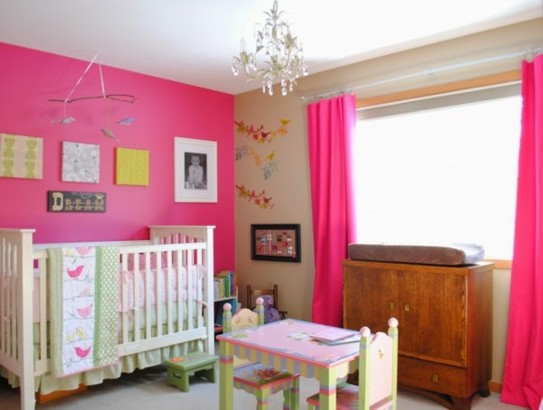 Dormitorios para beb s ni as dormitorios colores y estilos - Cuartos para bebes nina ...