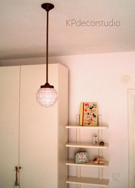 Decoración con lámparas vintage colgantes originales
