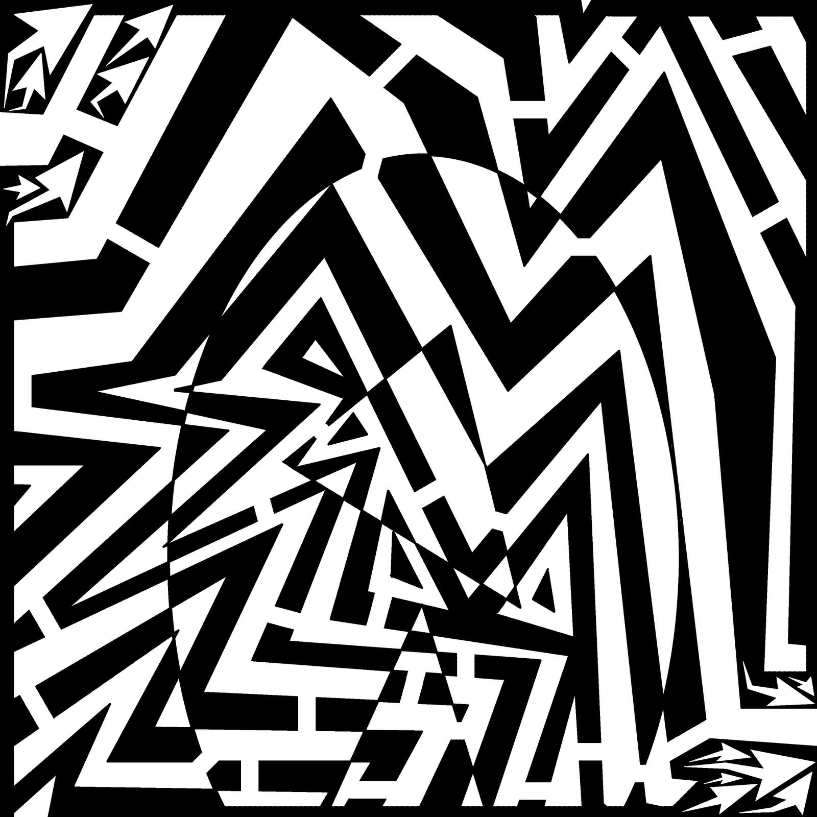 maze egg energetic illusion optical yonatan frimer artist drawing oval