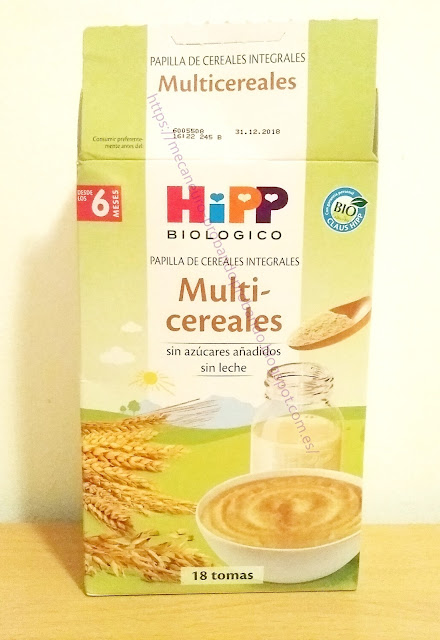 HIPP MULTICEREALES BIOLÓGICOS