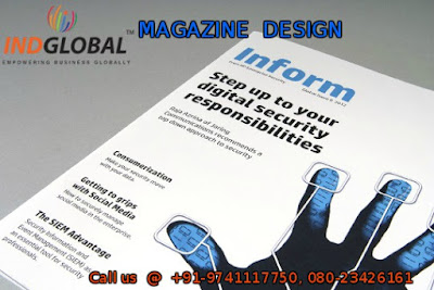 Magazine Design company in Bangalore.