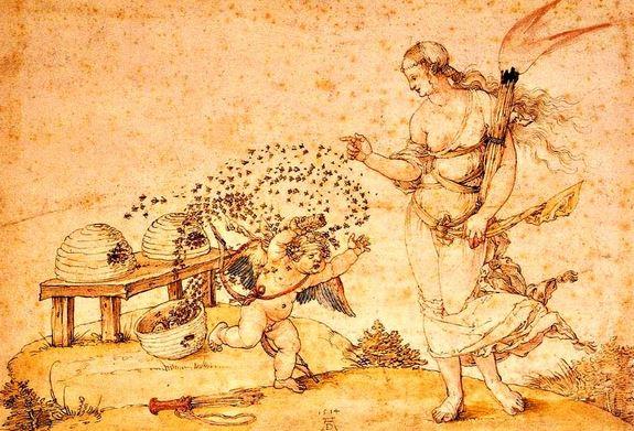 Cupido y Afrodita simbolo y significado