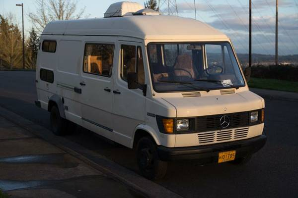 1984 mercedes benz 409d rv rv camper for Mercedes benz camper for sale
