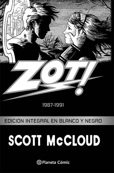Portada de Zot! Scott McCloud