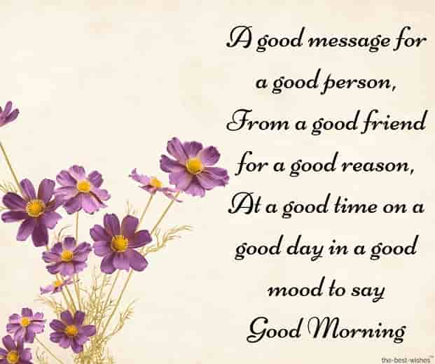 lovely gud mrng sms for friend