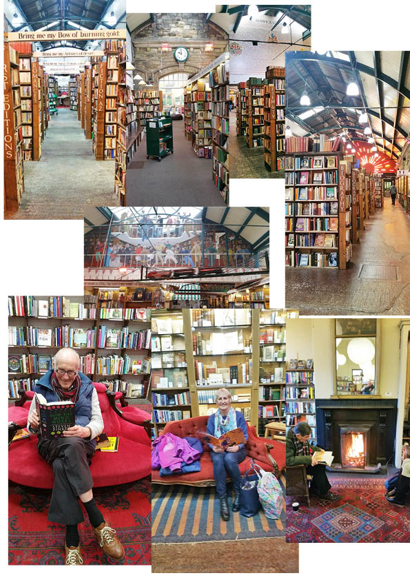 Shallilo-Foreveryoung visits a great book shop. Buys no less than 3 books. Alnwick - excellent place.