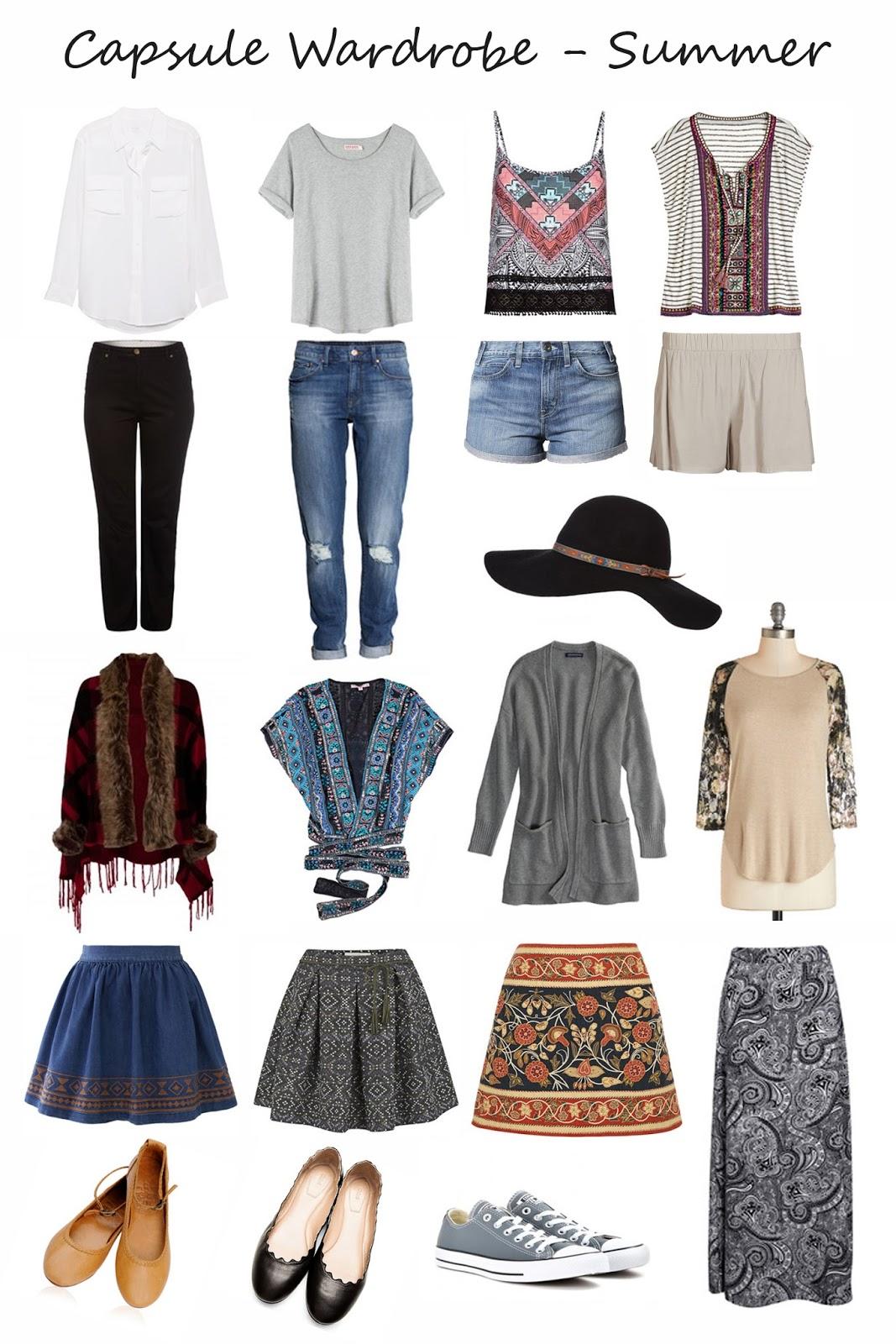 Fozzel Amp Bean A Spring Summer Capsule Wardrobe