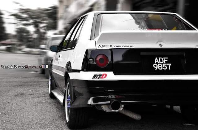 Modifikasi Iswara Menjadi AE86