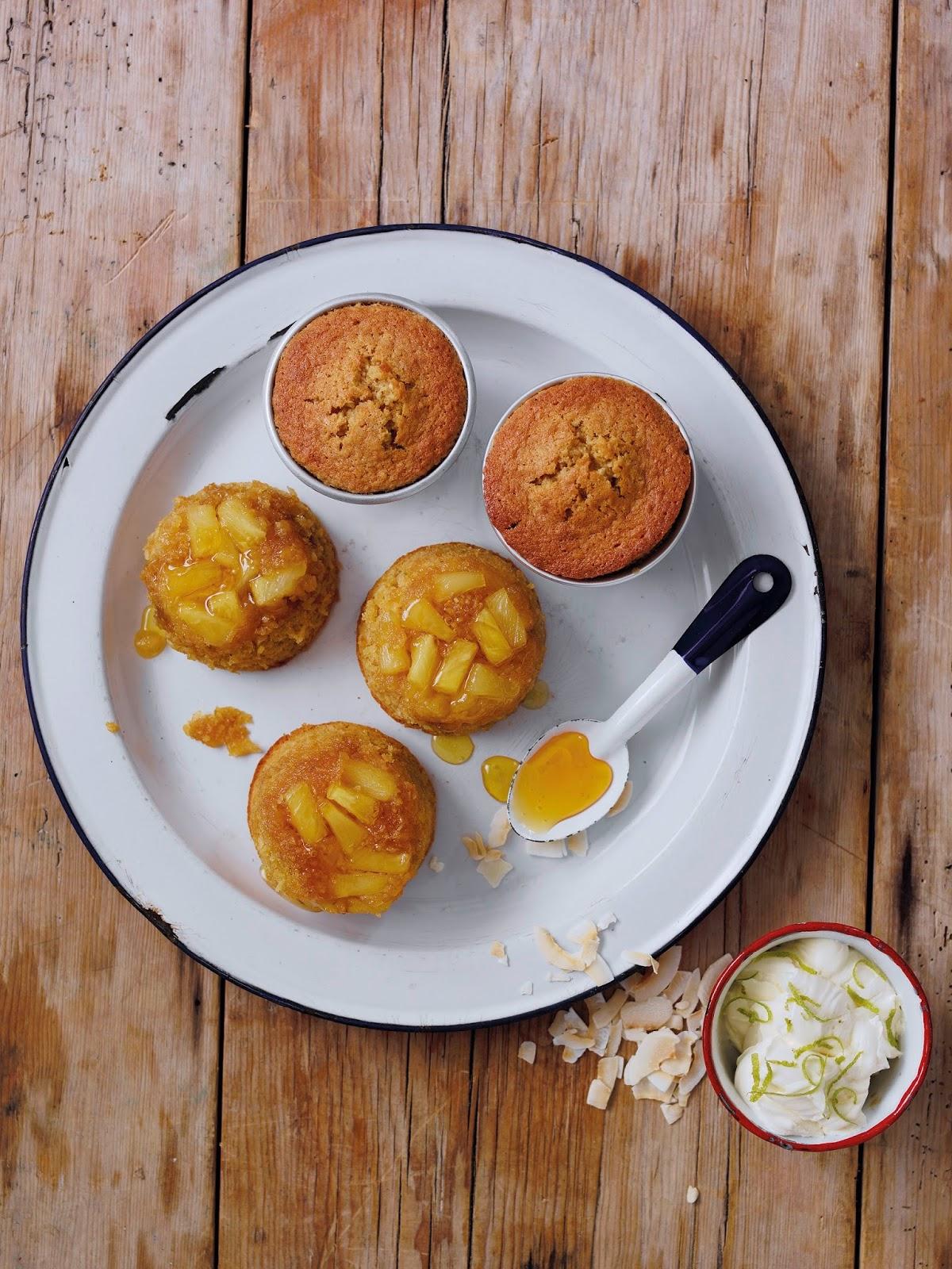 Pina Colada Puddings