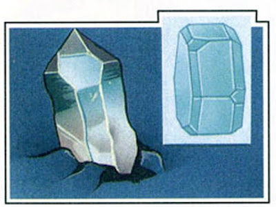 The atoms of quartz form rhombohedral crystals.